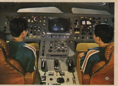 Astronaut training in the 80's