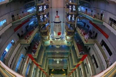 Shenzhou launch campaign
