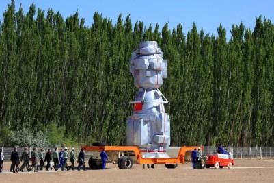 Shenzhou in transit