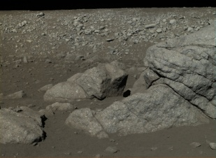 Chang'e 3 Moon surface