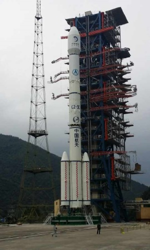 Change 5-T1 launch vehicle at Xichang