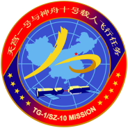 Shenzhou 10 mission patch