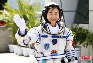 China's first female astronaut: Liu Yang