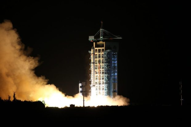 QUESS Mozi launch Jiuquan CZ-2D 3