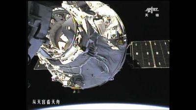 Tianzhou 1 mission 2