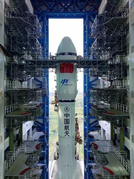 Tianzhou 1 rollout 3