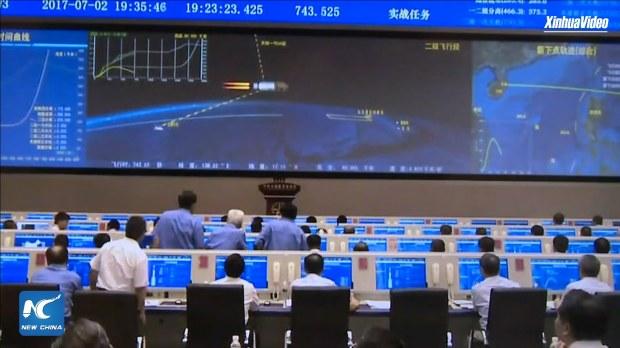 CZ-5 (Y2) SJ-18 Launch Control Centre